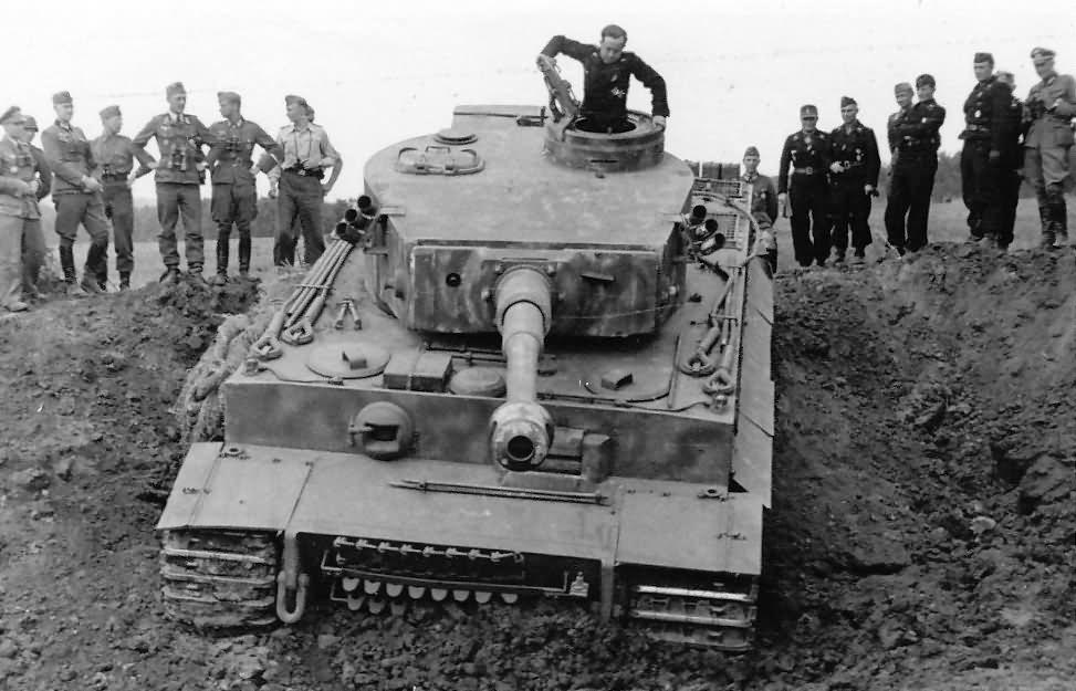 Tiger I number 311 schwere panzer abteilung 503