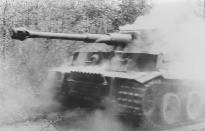Tiger I tank number 321 of sPzAbt. 503