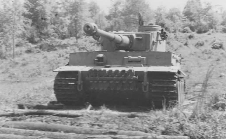 PzKpfw VI Tiger Ausf. E of Schwere Panzer-Abteilung 503, tank number 324 10