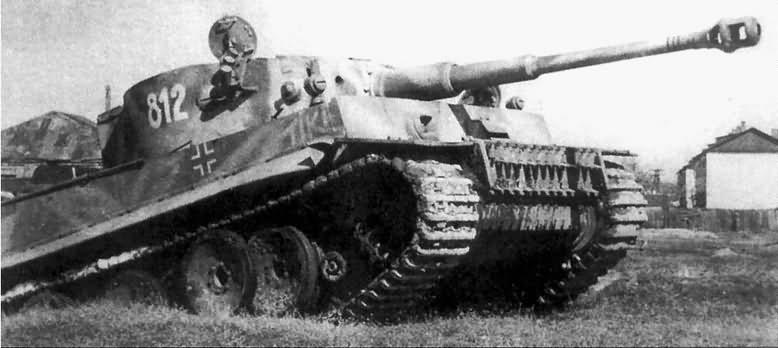 Tiger I number 812 Tiki 8/SSPzRgt 2 Das Reich