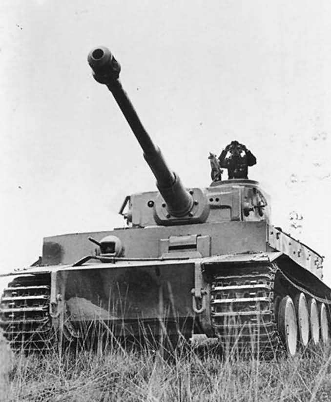 German Tiger I tank 3