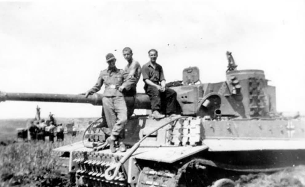 German Tiger I tank 34