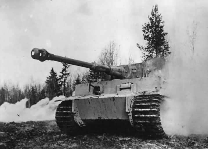 German Tiger I tank 39