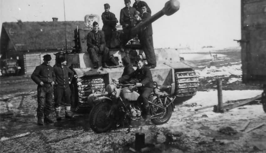 German Tiger I tank 41