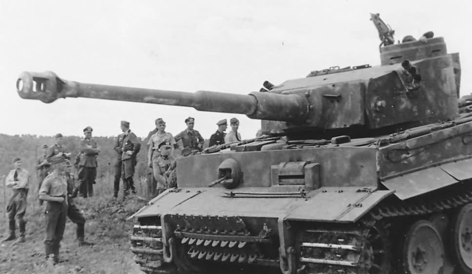 Panzerkampfwagen VI Tiger Ausf. H1 of Schwere Panzer-Abteilung 503, tank number 311