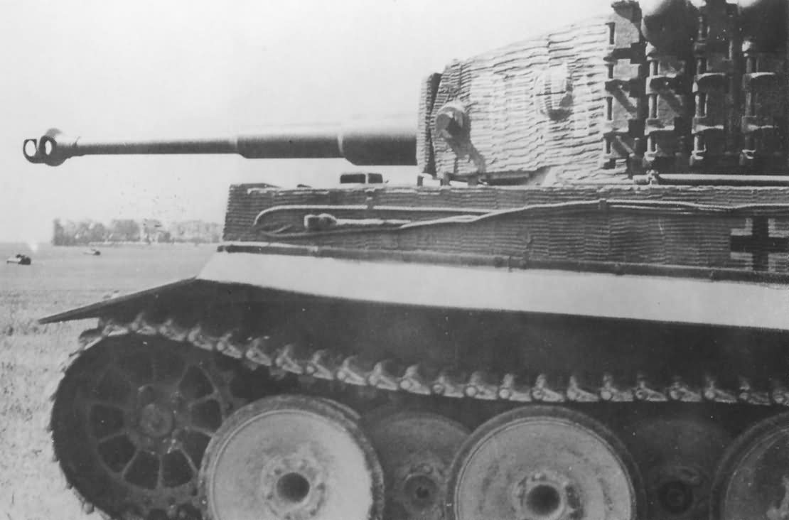 Tiger I with zimmerit of schwere SS-Panzer-Abteilung 101, tank number 304