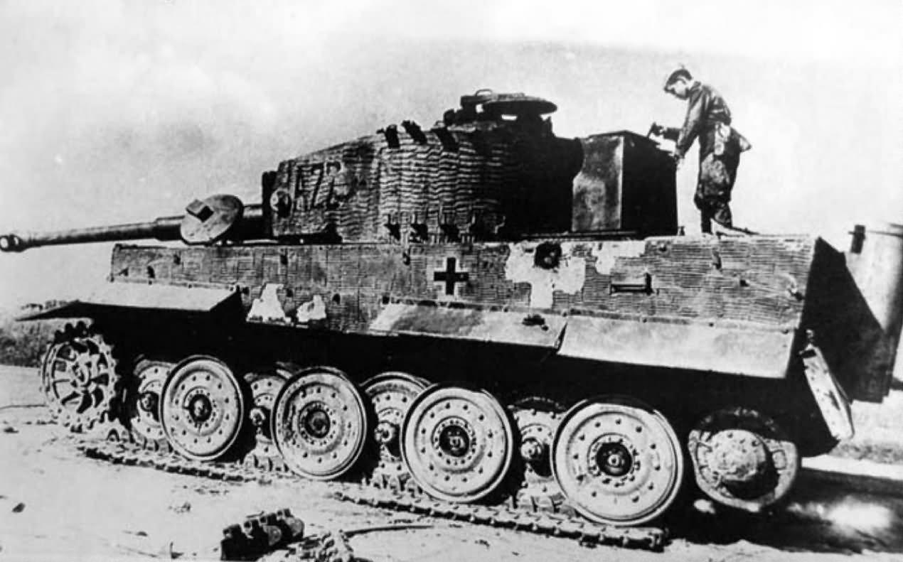Tiger code A22 of III/Panzer Regiment Grossdeutschland