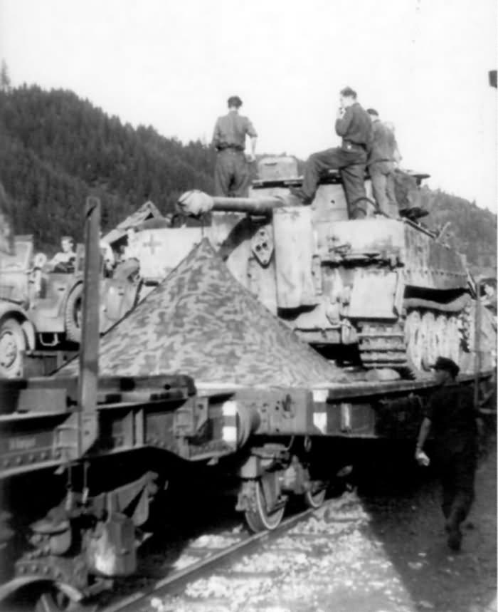 Tiger code A22 of III/Panzer Regiment Grossdeutschland Romania