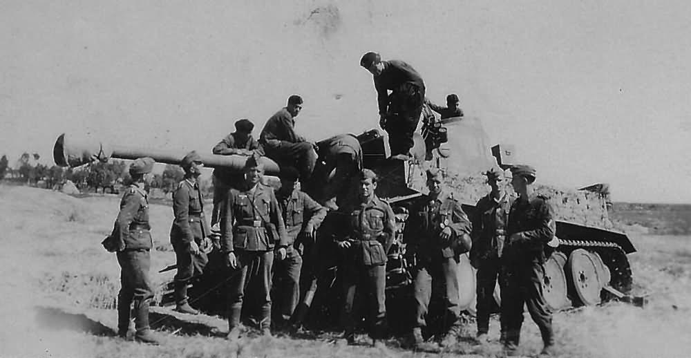 Tiger eastern front