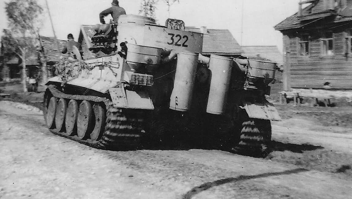 Tiger number 322 Schwere Panzer Abteilung 502 Russia