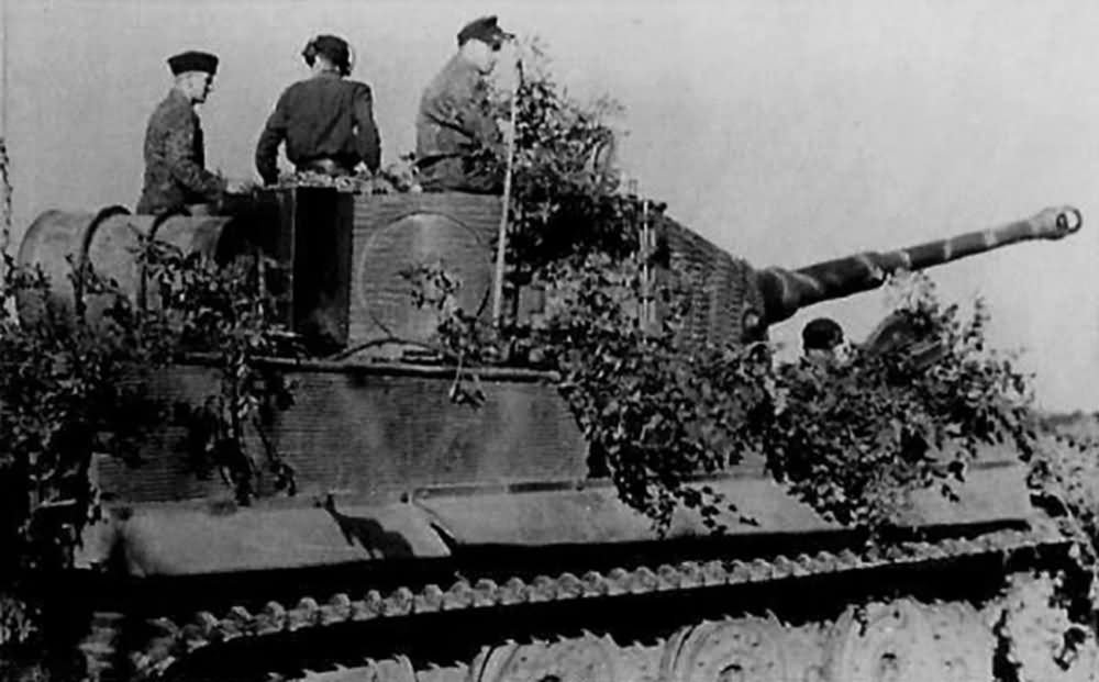Tiger of Schwere SS Panzer Abteilung 102. Tank number 211, France 1944