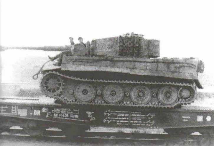 Tiger of the Schwere Panzer Abteilung 501, tank number 122