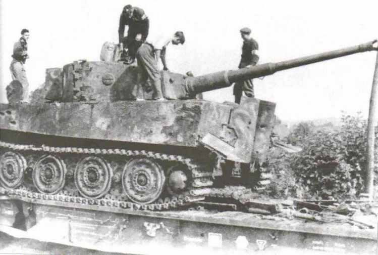 Tiger Ausf E of the Schwere Panzer-Abteilung 503. France 1944