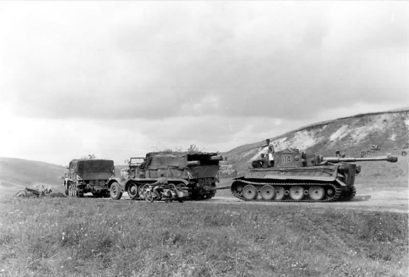Tiger tank number 114 of Schwere Panzer Abteilung 503 1943