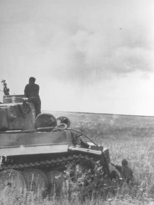 Panzer VI Tiger of the Schwere Panzer Abteilung 503, tank number 124