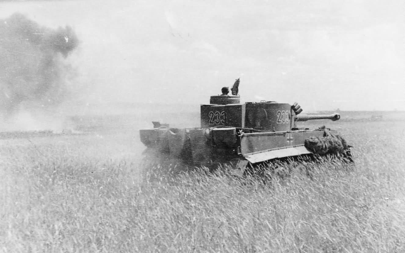 Panzer VI Tiger of Schwere Panzer-Abteilung 503, tank number 233 1943