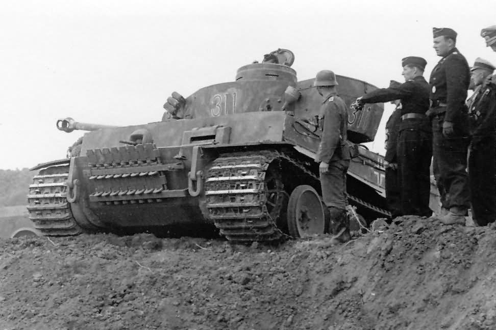 Panzer VI Tiger of Schwere Panzer-Abteilung 503, tank number 311