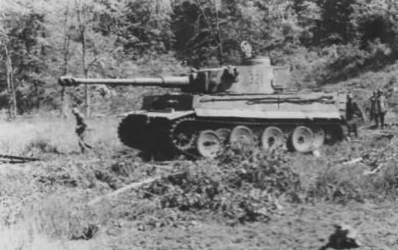 Panzer VI Tiger of Schwere Panzer-Abteilung 503, tank number 321 4
