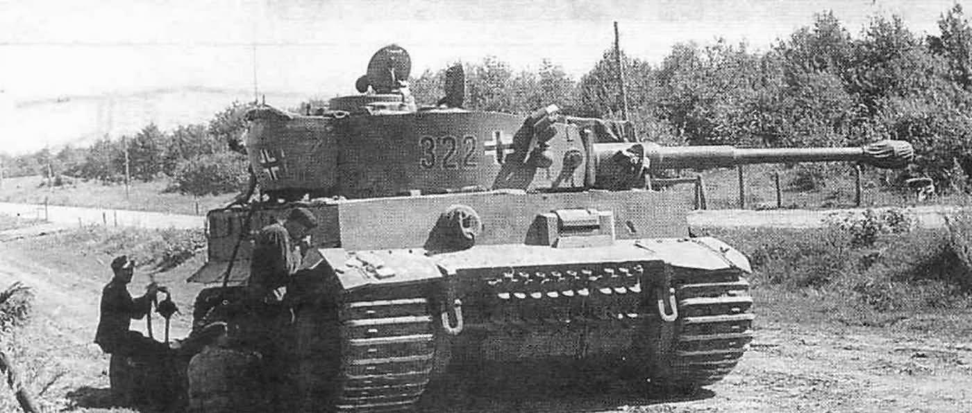 Panzer VI Tiger of Schwere Panzer-Abteilung 503, tank number 322