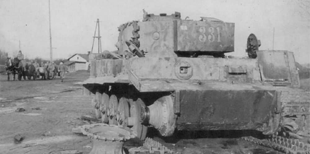 Panzerkampfwagen VI Tiger I of Schwere Panzer-Abteilung 509, tank number 331