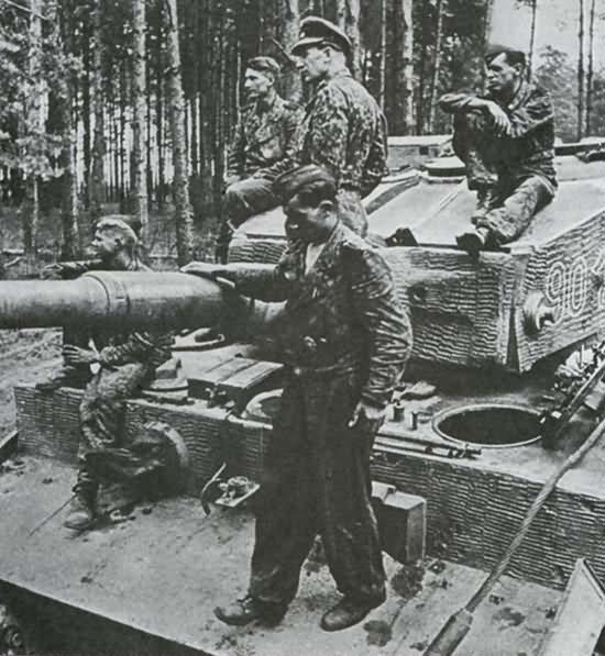 Panzer VI Tiger of 9./SS-Panzerregiment 3 Totenkopf, tank number 901