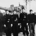 Early Tiger tank 223 and crew of the schwere panzer abteilung 505