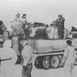 Panzerkampfwagen VI Tiger of Schwere Panzer-Abteilung 506, tank number 11 winter camouflage