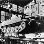 Tiger tank in Kassel Germany
