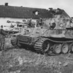Panzerkampfwagen VI Tiger of Schwere Panzer-Abteilung 503, tank number 334