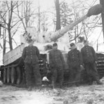 Tiger of schwere panzer abteilung 502 tank number 1 1943