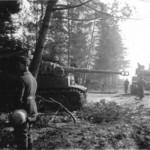 Tiger of the schwere Panzer Abteilung 502 tank number 2
