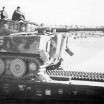 Tiger tank 213 of the schwere panzer abteilung 503 France 1944