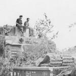 Tiger tank of the schwere panzer abteilung 503 France 1944