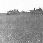 Tiger tanks in combat Bjelgorod 1943