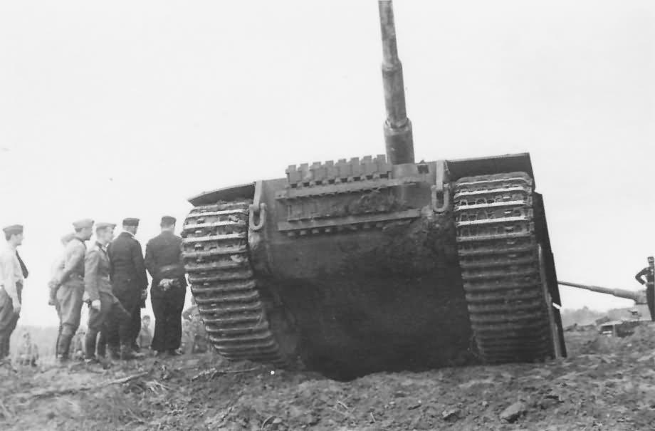 Heavy tank Panzerkampfwagen VI Tiger of Schwere Panzer-Abteilung 503, tank number 311