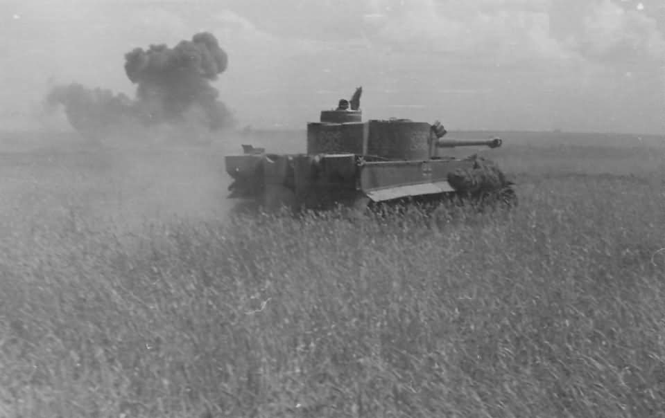 Tiger of Schwere Panzer-Abteilung 503, tank number 233 – eastern front 1943
