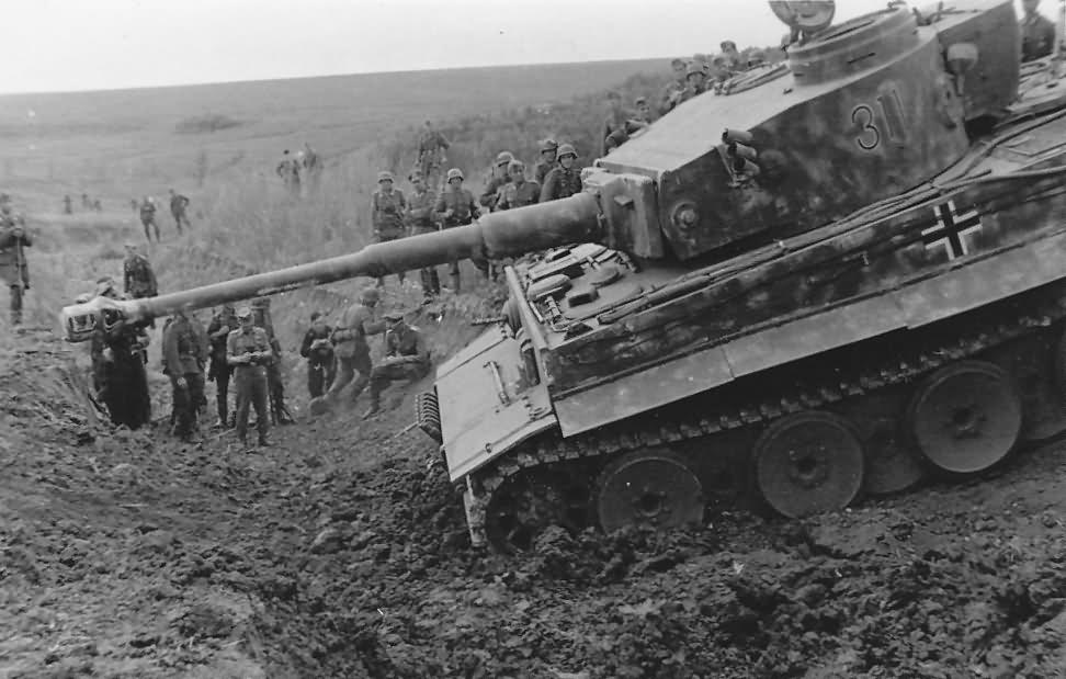 Panzer VI Tiger of Schwere Panzer-Abteilung 503, tank number 311 1943