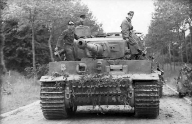 Tiger I 222 of schwere SS-Panzer-Abteilung 101- Normandy France