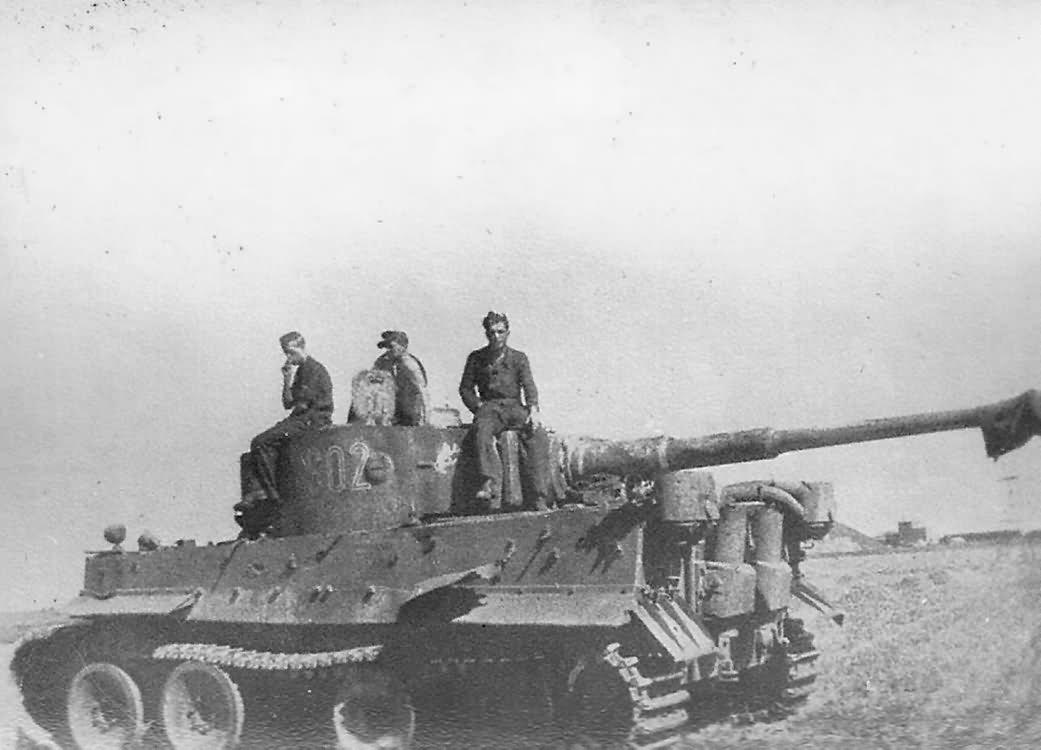 Panzer VI Tiger code S02 of Schwere Panzerkompanie SS-Panzer Regiment 2 Das Reich Eastern front 2