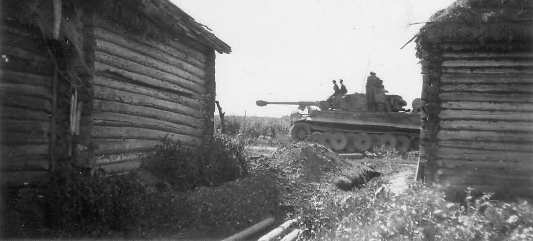 Tiger I sPz.Abt 502 eastern front