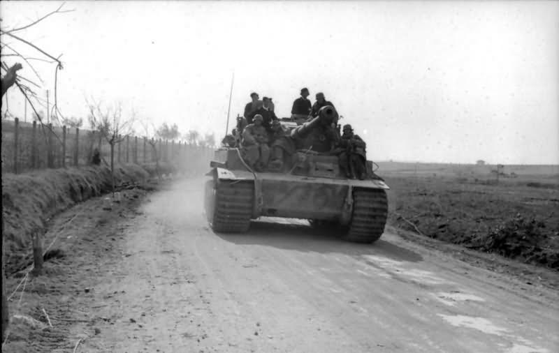 Tiger I tank Italy 1944 1