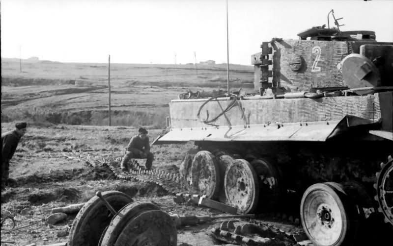 Tiger I tank number 2 of 2/schwere Panzerabteilung 508 Anzio Italy 1944 3