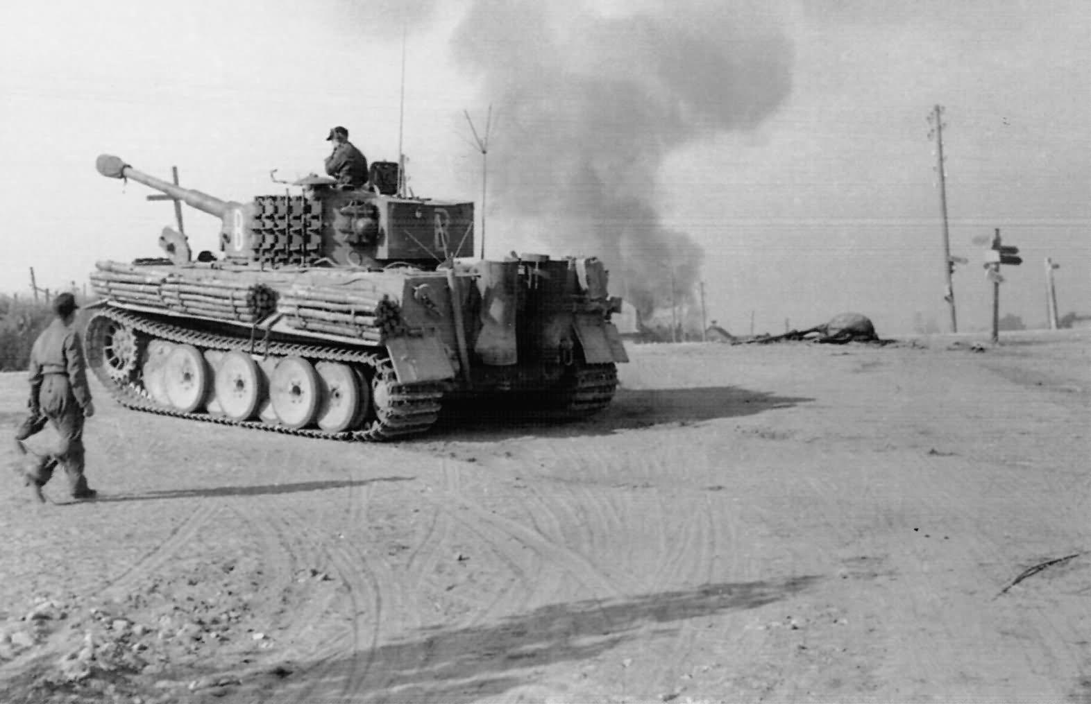 befehls Tiger code B of 507 Schwere Panzer Abteilung, Eastern front 1944