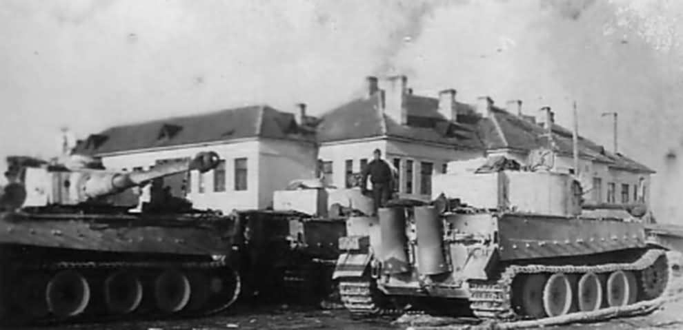 Tigers of the sPz.Abt 502 – Eastern Front