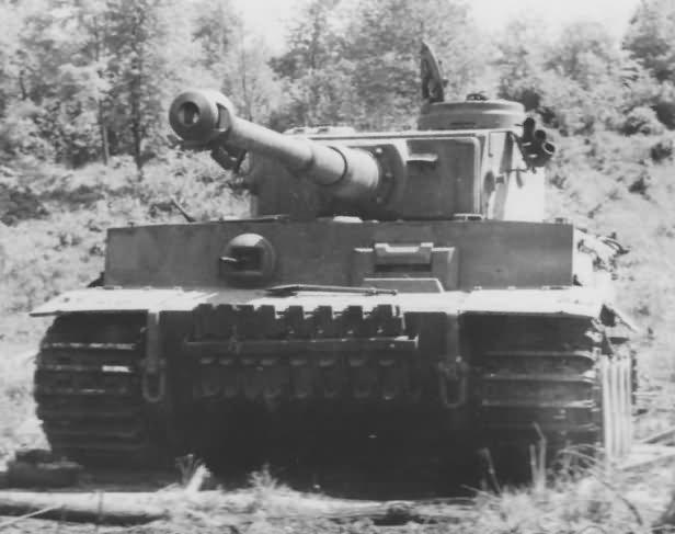 Tiger tank 324 of the of schwere Panzerabteilung 503, 1943