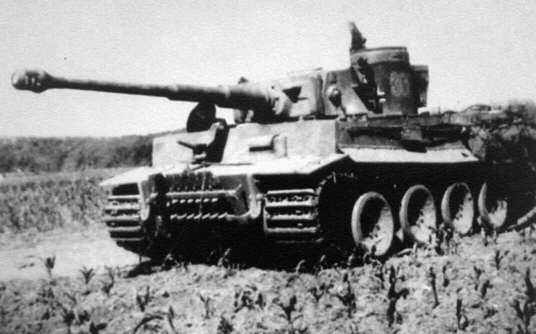 German Tiger I tank number 300 of schwere Panzer Abteilung 503