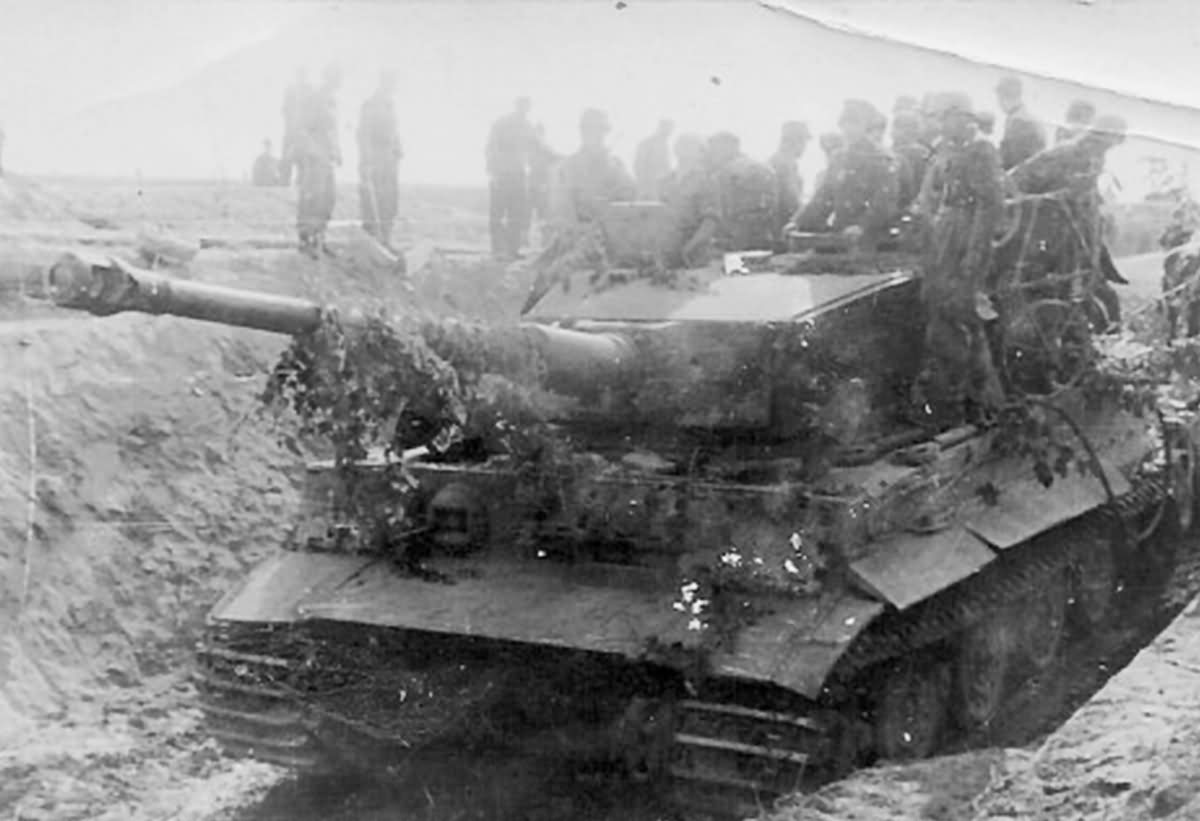Late Tiger tank Italy