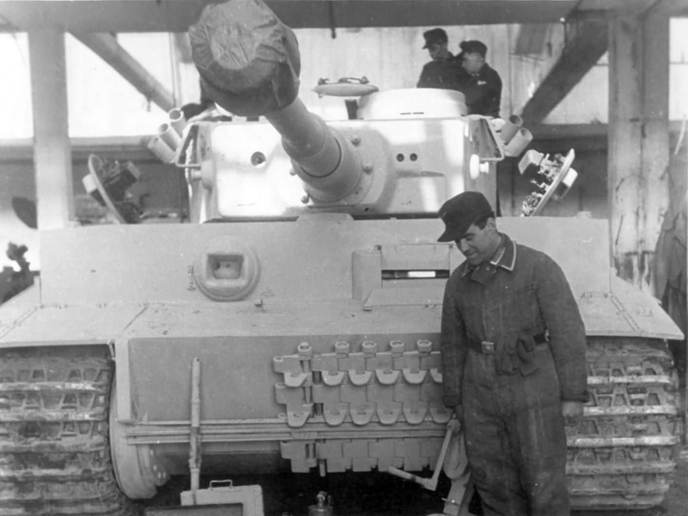 Panzerkampfwagen VI Tiger of Schwere Panzer-Abteilung 505
