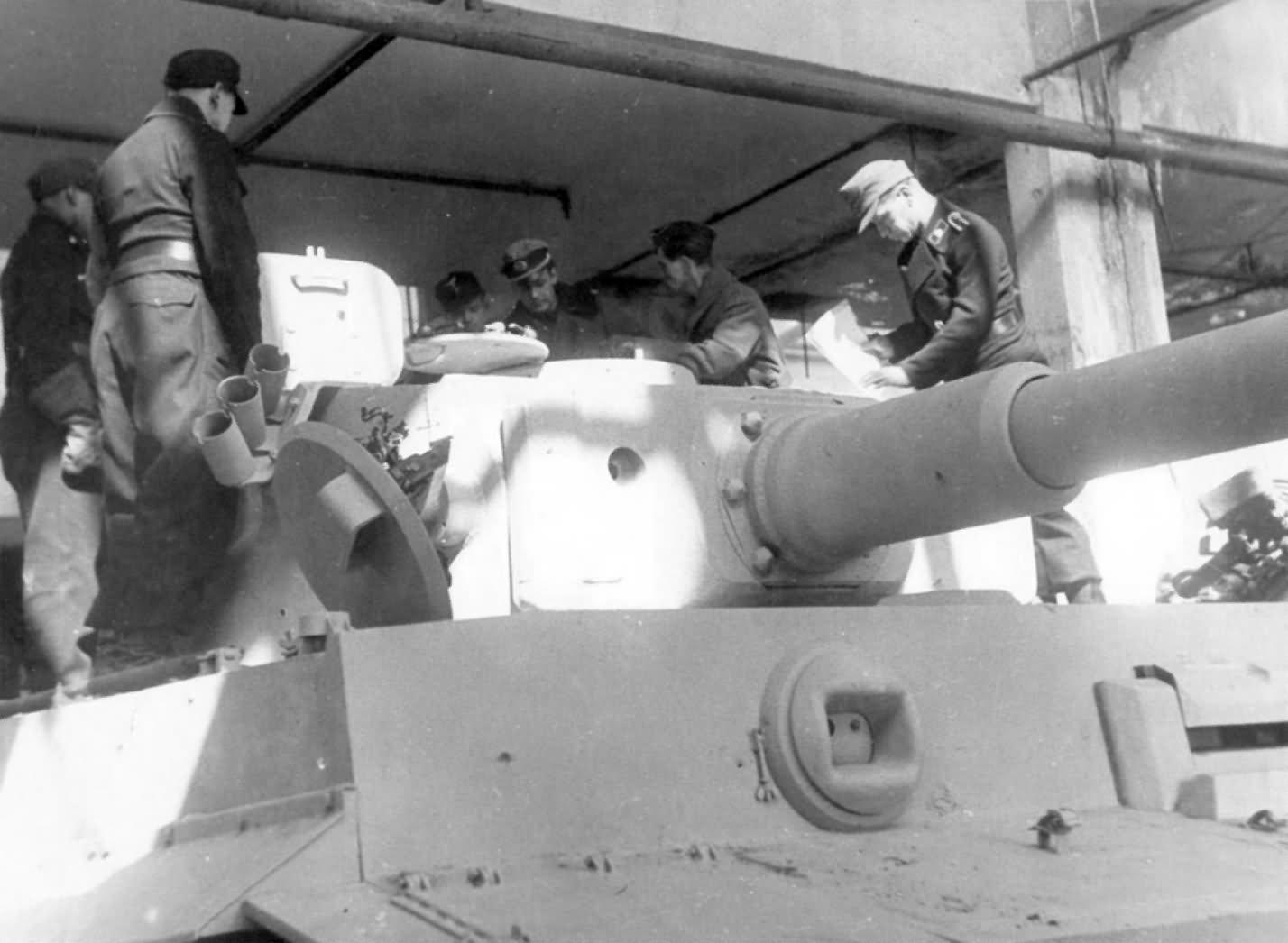 Heavy tank Tiger I of the Schwere Panzer Abteilung 505