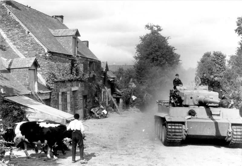 Tiger tank of the schwere Panzer-Abteilung 502, 1943